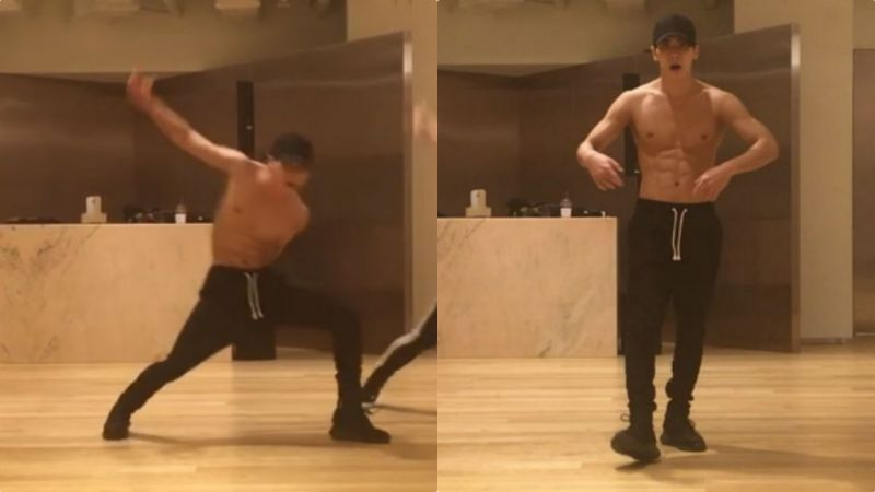 SM編舞師公開鐘鉉未曝光練舞錄像:跳得真好,我的孩子