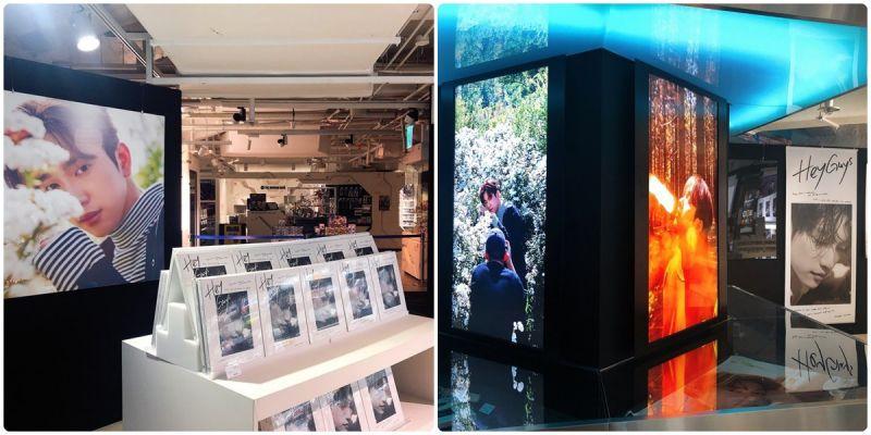 期间限定!GOT7珍荣的概念周边店终於在明洞乐天百货开幕啦!