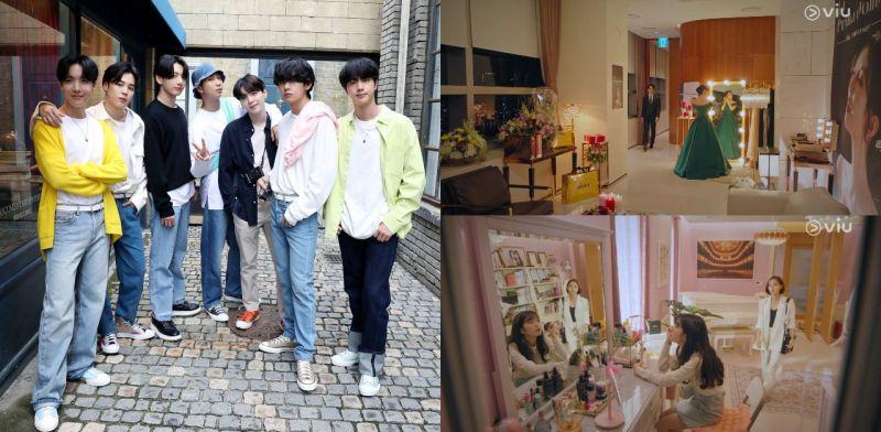 《The Penthouse》里也见到BTS防弹少年团!其实不止一部韩剧提到他们