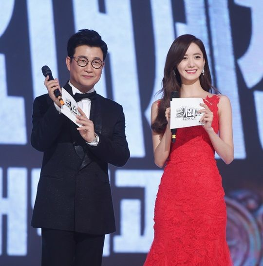 金成柱&潤娥連續二年主持MBC歌謠大祭典