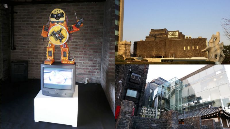 首爾安國站的「ARARIO MUSEUM IN SPACE」!非一般的美術館啊~