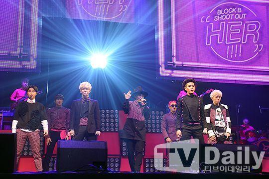 Block B舉辦新曲《H.E.R》Showcase