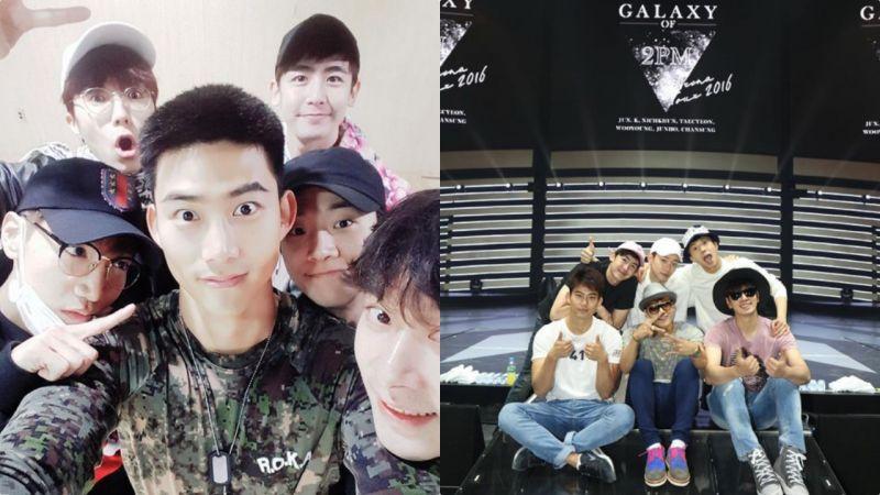 泪目!玉泽演&Nichkhun晒旧照庆祝2PM出道11年:满满的都是回忆!