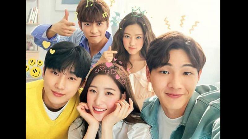 《因為初戀是第一次》最新五位主演「宣傳預告」和「主海報」登場,太青春無敵啦~!