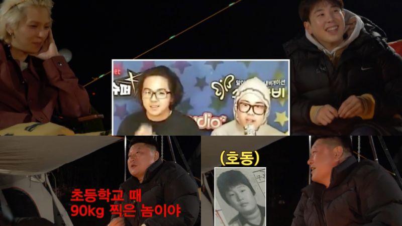 《Spring Camp》P.O&宋旻浩虚势爆满「我们也曾经胖到90公斤」秒被姜镐童K.O:「我是小学就胖到90公斤的人」