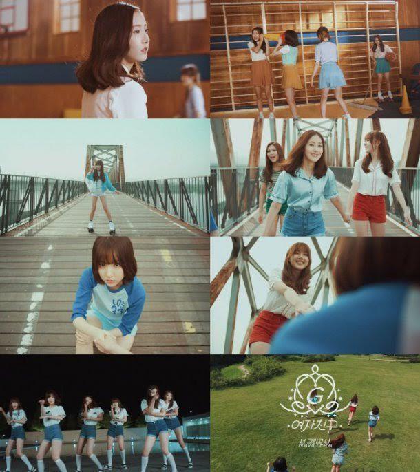 GFRIEND曝新主打歌《navillera》MV 預告 展現青春洋溢甜美Look