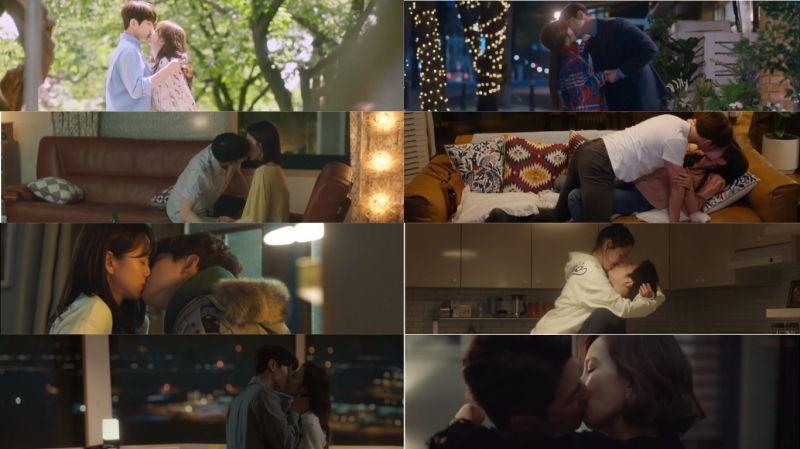 回顧2018年JTBC電視劇的8對螢幕CP!哪一個吻戲畫面最令你印象深刻或心動呢?