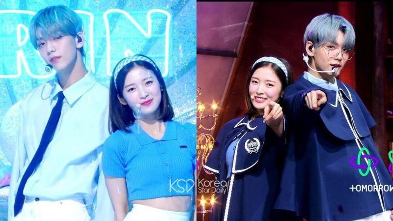 《音樂銀行》新MC申告式舞台:Oh My Girl忙內Arin和TXT隊長崔秀彬青春魅力四射!