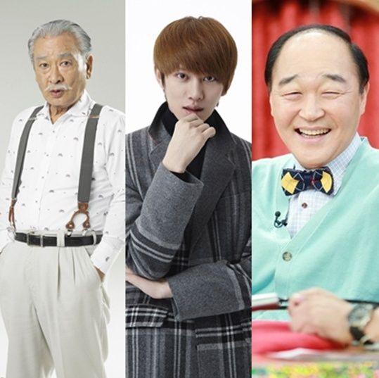 Super Junior金希澈與李順載配合出演《花樣爺爺偵察隊》