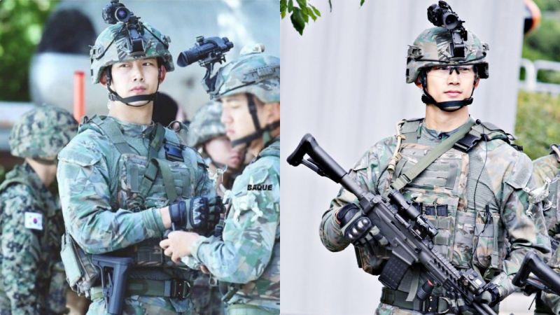 他就是現實版「柳大尉」啊!果然穿軍裝的男人最帥,「韓國隊長」玉澤演帥令人窒息♥