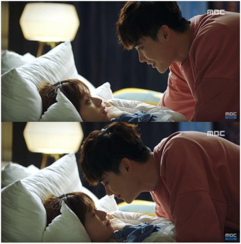 《W》李钟硕与韩孝周之间的「电灯泡」 你们有发现吗?