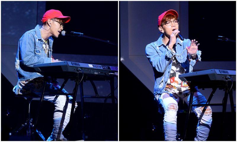 Jun.K演唱會墜落受傷 手肘&無名指骨折