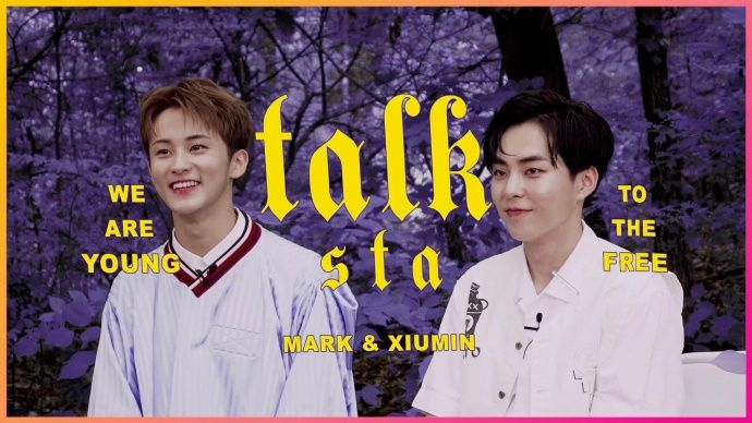 EXO XIUMIN x NCT MARK 《Young & Free》 製作訪問公開