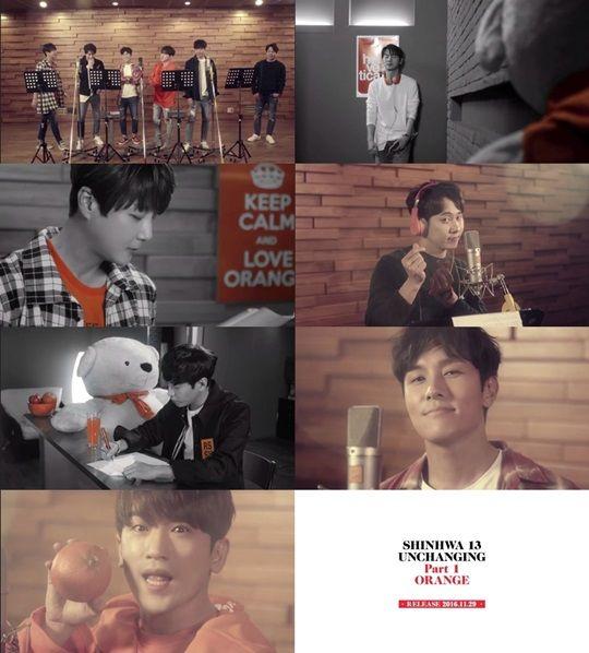 神話新歌《Orange》MV預告片釋出 OPPA們青春活力不減