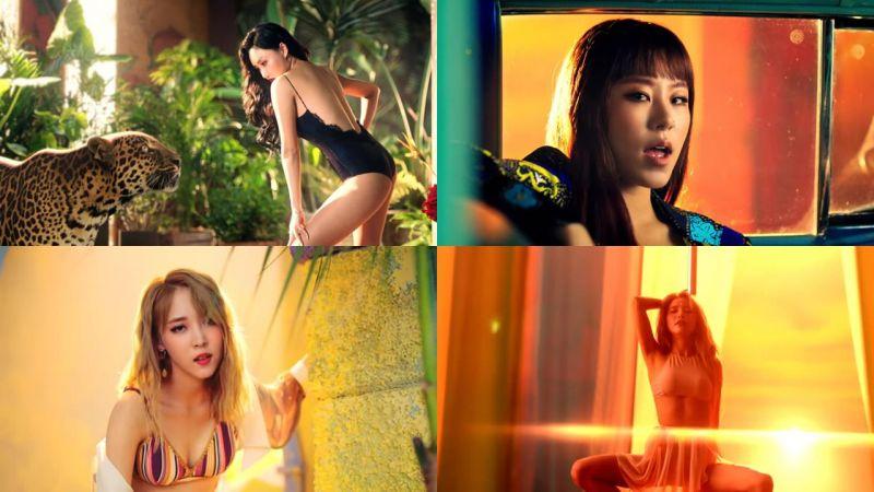 MAMAMOO主打歌MV連女生都撩:「不只性感,簡直看了目瞪口呆!」