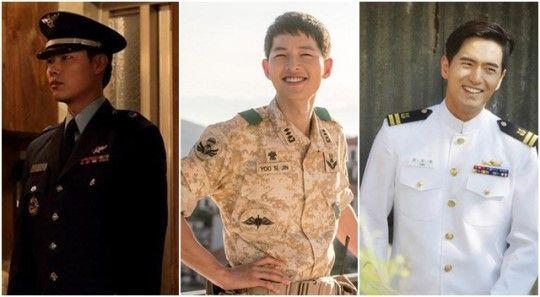 韓劇最新流行的男主角職業:軍人