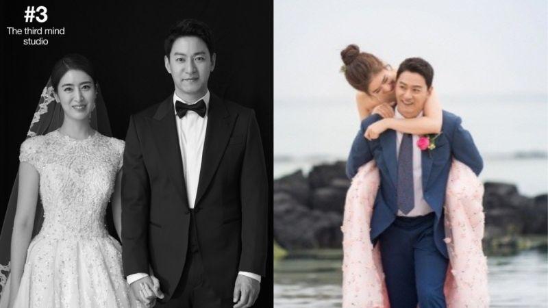 朱镇模♥闵惠妍婚纱照今日公开!真的是郎才女貌,超级「夫妻脸」的一对呀!