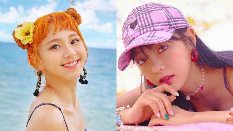 TWICE彩瑛 VS gugudan世正:居然在新歌预告照里撞衫啦!