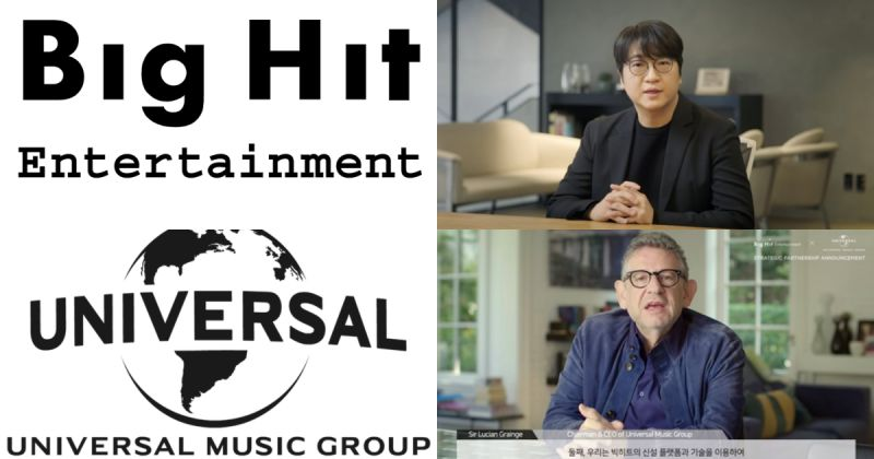 Big Hit 與 UMG 聯手 預定明年推出新團「將展現前所未有的團體誕生過程」!