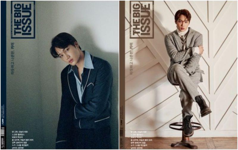 善良的回報!EXO KAI《BIG ISSUE》雜誌獲創刊最高銷量