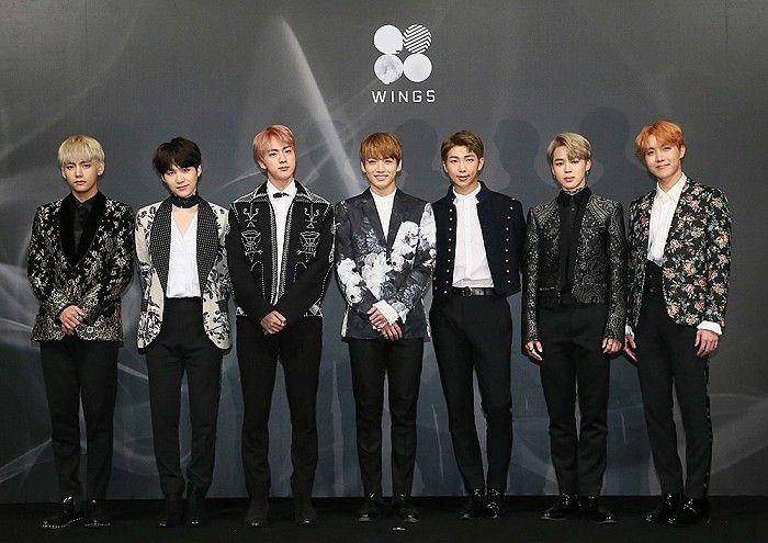 防弹少年团获1月男团品牌评价一位 EXO、SEVENTEEN紧追在后