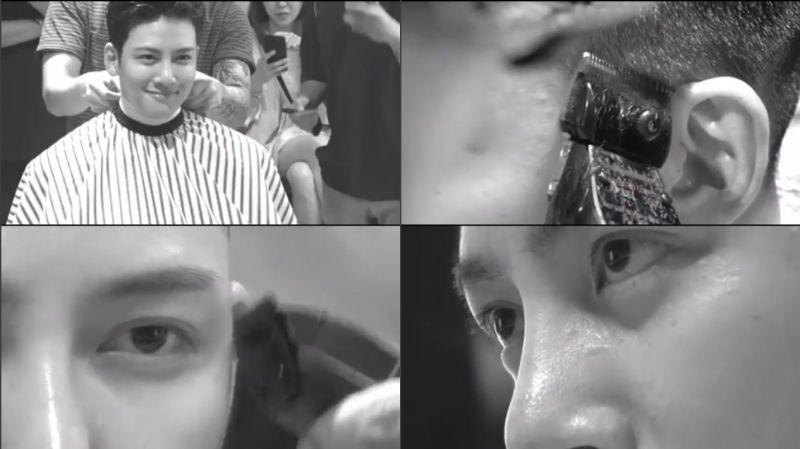 明天就要入伍了!池昌旭與粉絲們分享入伍前的剃髮影片