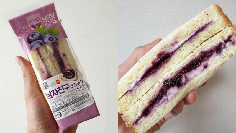 GS25推出「男友三明治」背後故事引發討論!有位女生忘不了前男友製作的三明治,所以詢問了XD