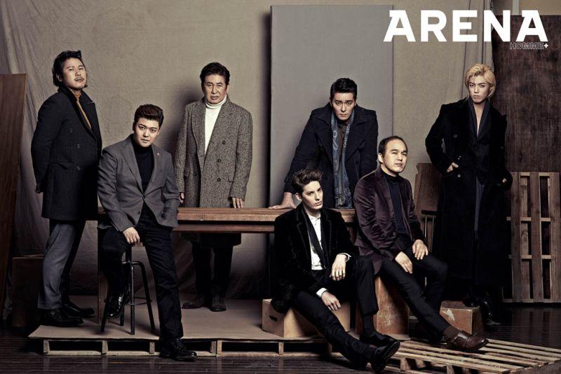 《我獨自生活》7成員合拍寫真 西裝+大衣難得穩重