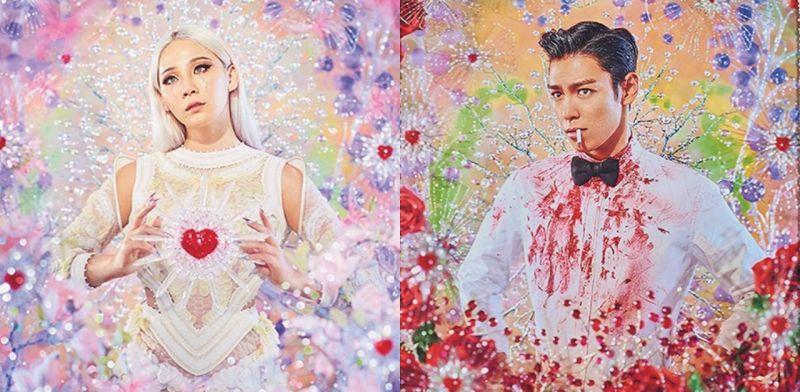 CL和T.O.P化身超美肖像画! 法国艺术家Pierre et Gilles来韩展出