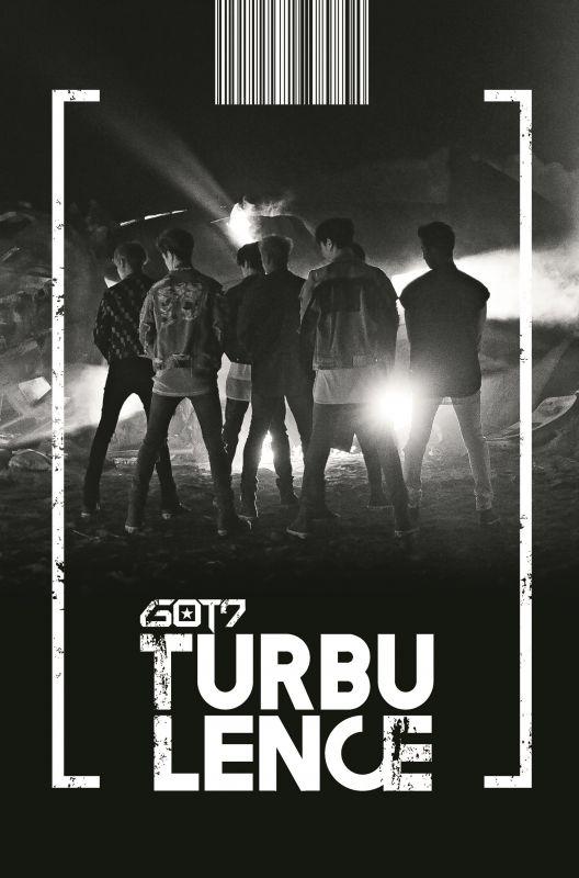 GOT7正規二輯 FLIGHT LOG :TURBULENCE     台灣特別版CD+DVD已發行