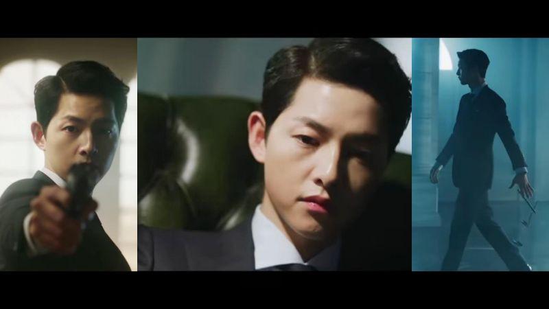 宋仲基2月有電影還有新劇!tvN《Vincenzo》公開他化身黑手黨律師的帥氣預告