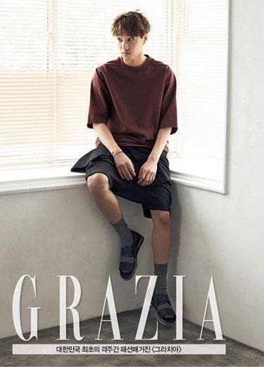 EXO KAI、世勳 為《GRAZIA》拍攝的畫報公開