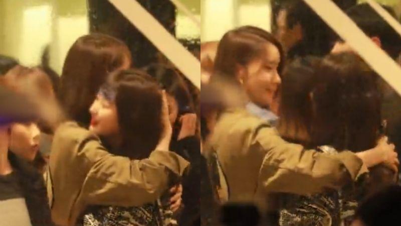 少時潤娥緊緊摟抱Red Velvet Seulgi,前輩對後輩的!