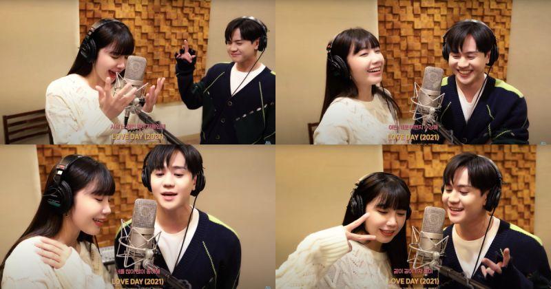 恩地 × 耀燮〈Love Day (2021)〉正式发行啦!迅速征服即时音源榜