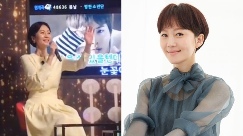 《Sky Castle》「郭美香」廉晶雅演唱BTS防弹少年团《春日》!网友:「欧莫尼太可爱了!」