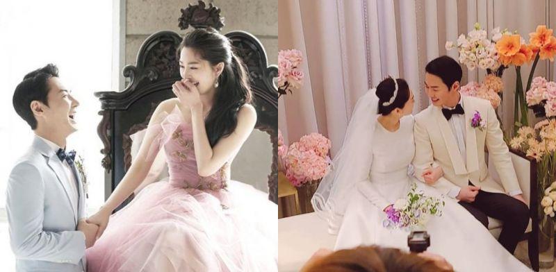 JunJin大婚神话所有人到场祝贺!新郎跳舞哄新娘开心,超级甜蜜♥