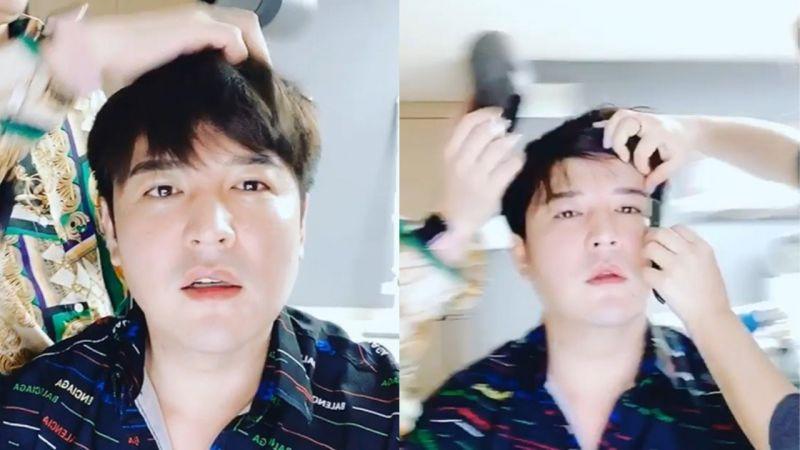 上个月宣布要减重的Super Junior神童!近况公开:脸颊肉消失,下巴线条也变得明显呢!