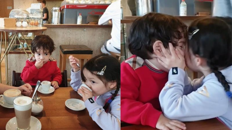 娜恩、建厚妈妈IG更新孩子们的近况!因为疫情的关系...他们将推迟回韩国的时间