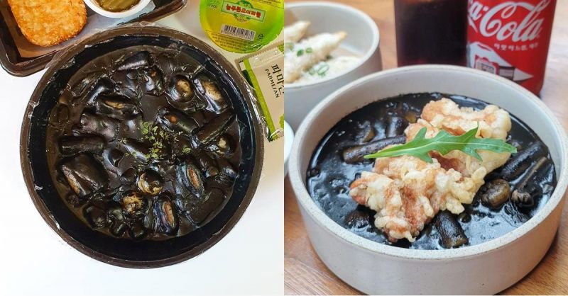 千万不要以貌取人,不对,是以貌取味!韩国人大推好吃的泥水炒年糕,还有个超好听的名字叫黑玫瑰
