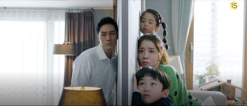 《我身後的陶斯》第二版預告公開!「秘密特工」蘇志燮與「謎樣大媽」鄭仁仙成為鄰居