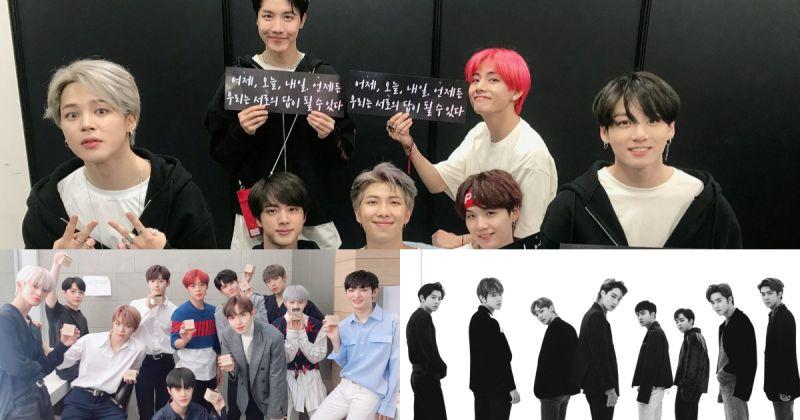 【男團品牌評價】BTS防彈少年團穩坐寶座長達 8 個月 Wanna One、EXO 名次持平