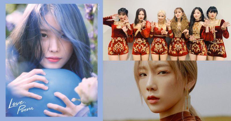 韓國人上週都聽什麼歌?IU、(G)I-DLE、太妍居前三名!