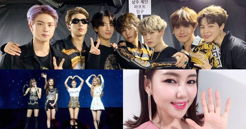 【歌手品牌评价】BTS防弹少年团夺冠 前十名个人歌手全为女性!