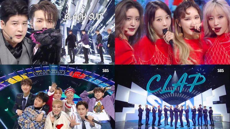 本期韩国乐坛回归太精彩啦,一篇文章一次看过偶像团体精彩live舞台全纪录!