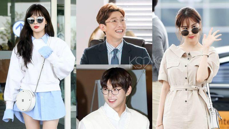 盘点「戴上眼镜」反而更时尚、迷人的韩星~他们连穿搭都很讲究啊!