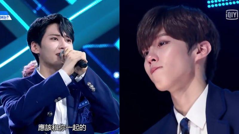 《Produce X 101》最大遺珠「李鎭赫」,對金宇碩隔空喊話:抱歉沒能陪著你