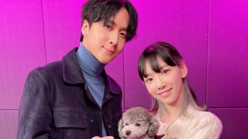 Ravi 公司也否认与太妍的恋爱消息,公司正式回应:「两人只是要好的前后辈关系。」