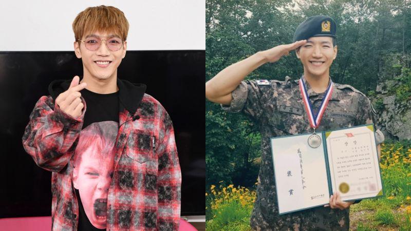 2PM Jun.K 服役很順利!以優異成績獲獎結業「想趕快和 Hottest 分享好消息」