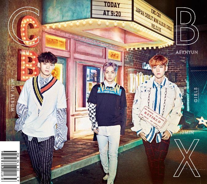 EXO-CBX 正式在日出道 首張專輯奪 Oricon 亞軍!