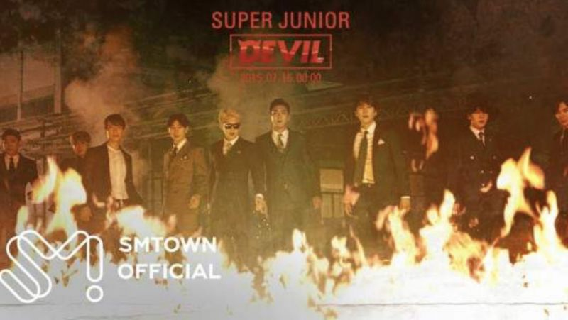 Super Junior《Devil》YouTube逆襲!一起來重溫一下他們5年前的巔峰美顏吧